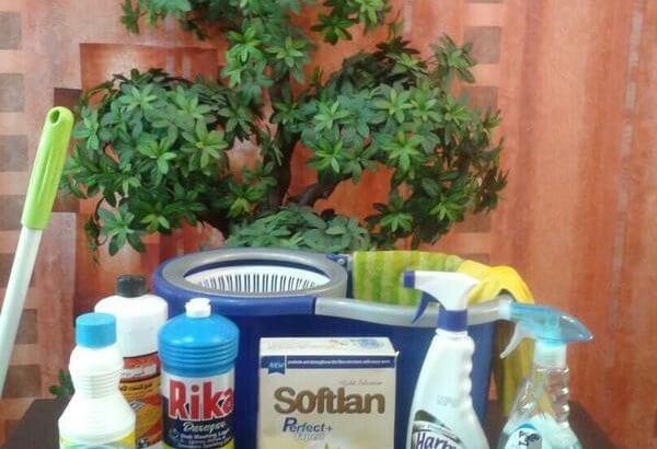 نظافت منزل و محل کار با شوینده سراسرتهران