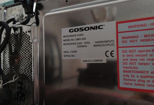 مایکروفر گاسونیک GMO_530
