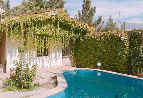 اجاره باغ ویلا دوبلکس همراه استخر روباز در کردان