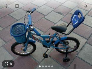 دوچرخه۱۶لاستیک هانوتیوپهاسالم وتمیز