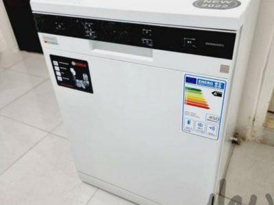 ماشین ظرفشویی ۱۴نفره بوش یک ماه کارکرده